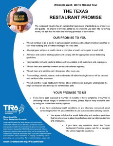 Texas Restaurant Promise image